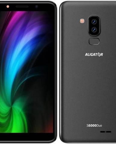 Mobilný telefón Aligator S6000 Dual SIM čierny