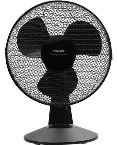 Ventilátor stolový Sencor SFE 3011BK čierny
