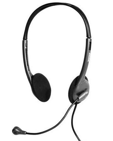 Headset  Port Connect Stereo 3,5 mm jack čierny