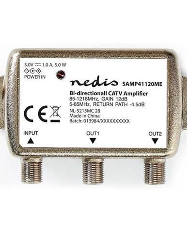 Zosilňovač Nedis Catv, Max. zesílení 9 dB, 85-1218 MHz, 2 výstupy,