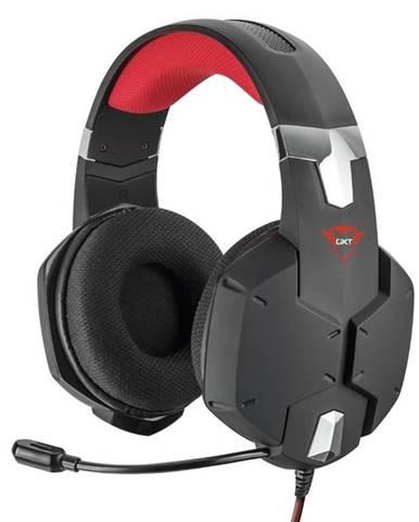 Headset  Trust GXT 322 Carus čierny