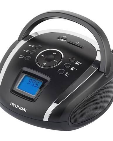 Rádioprijímač Hyundai TR 1088 Su3bs čierny/strieborn