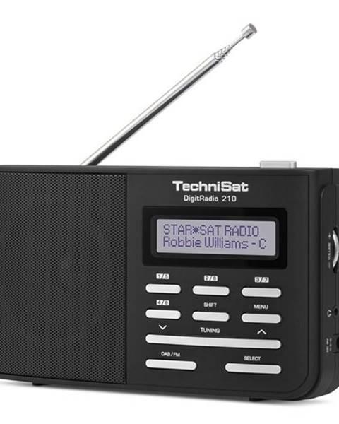Technisat Rádioprijímač s DAB+ Technisat DAB210 čierny/strieborn