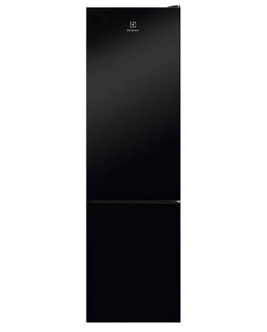 Kombinácia chladničky s mrazničkou Electrolux Lnt7me34k1 čierna