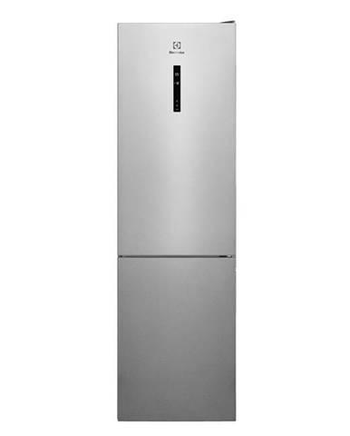 Kombinácia chladničky s mrazničkou Electrolux Lnt7me34x2 nerez