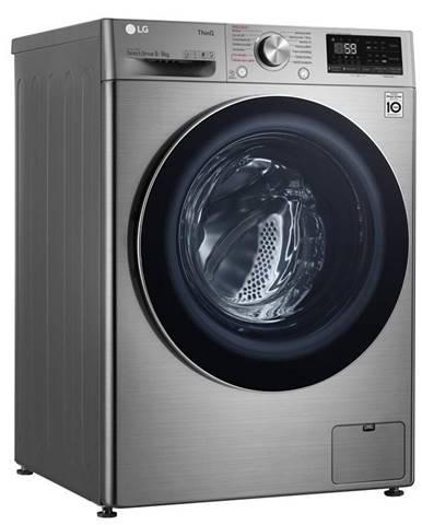 Práčka so sušičkou LG F4dv709h2te strieborn