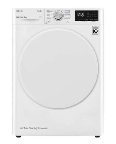 Sušička bielizne LG Rc81v5av0q biela