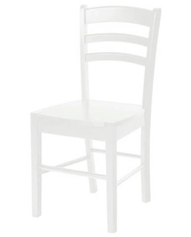 Jedálenská stolička NIKITA biela
