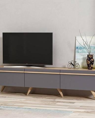 TV stolík AMSTERDAM antracit