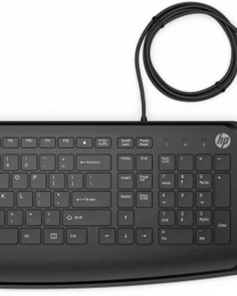 HP Set HP klávesnica a myš USB 250, CZ/SK, drôtový, čierny