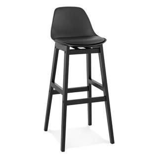 Čierna barová stolička Kokoon Turel, výška sedu 79 cm