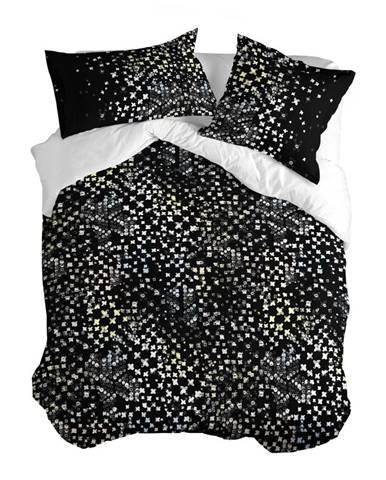 Bavlnená obliečka na paplón Blanc Starlight, 140 × 200 cm
