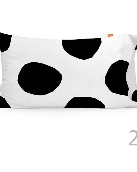Blanc Súprava 2 bavlnených obliečok na vankúš Blanc Dot, 50×75 cm