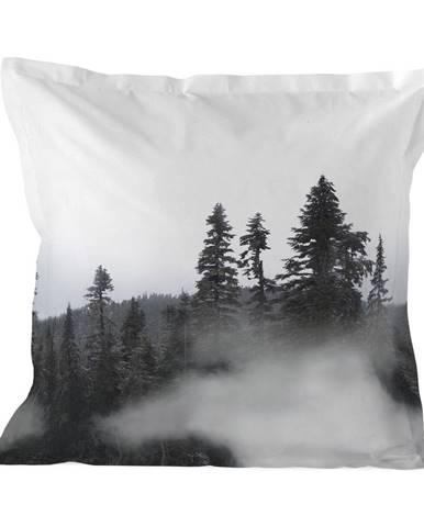 Bavlnená obliečka na vankúš Blanc Alaska, 60 x 60 cm