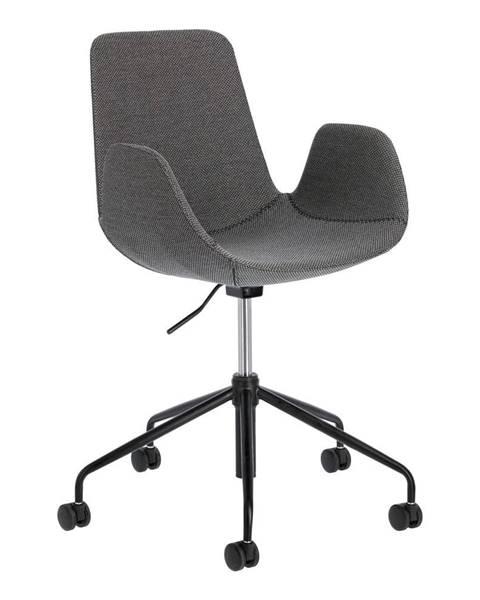La Forma Sivá kancelárska stolička La Forma Yasmin