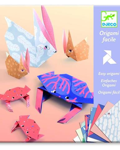 Sada 24 origami papierov s návodom Djeco Family