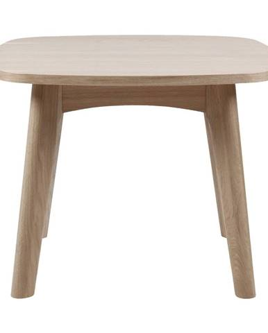 Odkládací stolík s podnožím z dubového dreva Actona Martel, ⌀ 58 cm