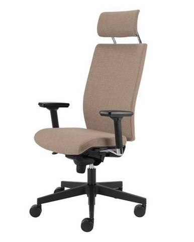 Kancelárska stolička CONNOR béžová
