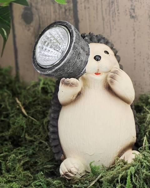 MERKURY MARKET Solárna lampa Jež TYL199105-4 LED