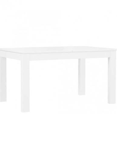 Jedálenský stôl Tuluza PRTT402 biela lesklá/biela