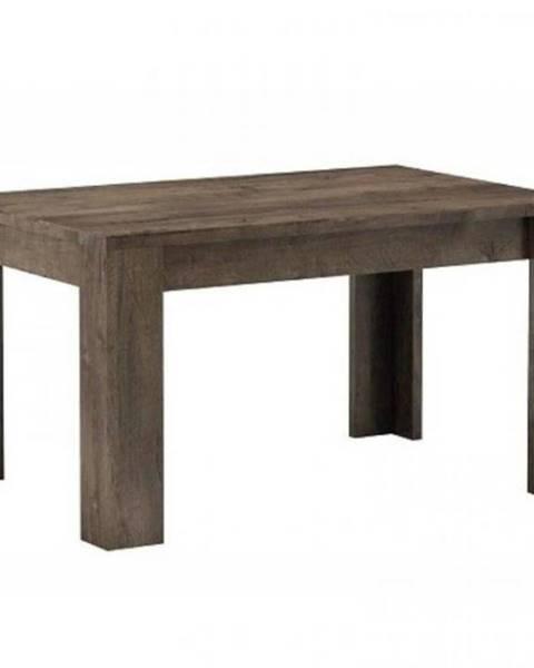 MERKURY MARKET Stôl duży Indianapolis 160+40  jaseň tmavý
