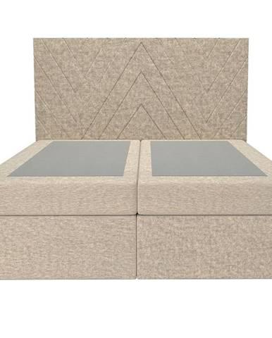 Posteľ Ariel 160x200 Monolith 04 bez vrchného matracu