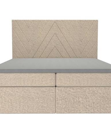 Posteľ Ariel 160x200 Monolith 04 s vrchným matracom