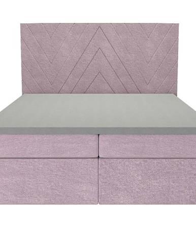 Posteľ Ariel 160x200 Monolith 62 s vrchným matracom