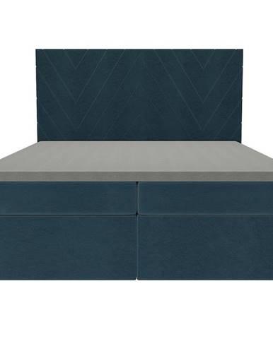 Posteľ Ariel 160x200 Monolith 77 s vrchným matracom