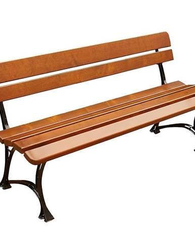 Drevený záhradný nábytok lavička královská farba cyprus