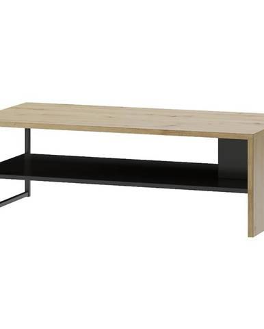 Konferenčný stolík Lucas 41 Artisan/čierna mat