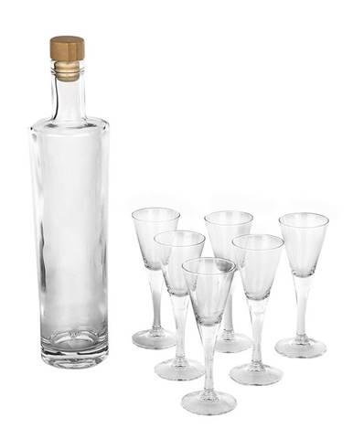 Altom 7-dielna sada fľaše a pohárov Royal Leerdam