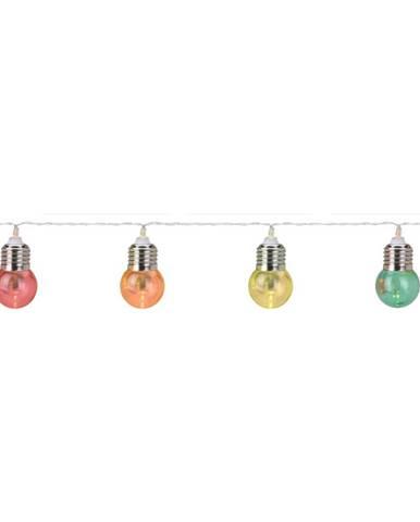 LED párty osvetlenie na batérie, 30 žiaroviek, 4,5 m