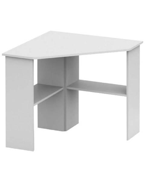 Tempo Kondela PC stôl rohový biela RONY NEW