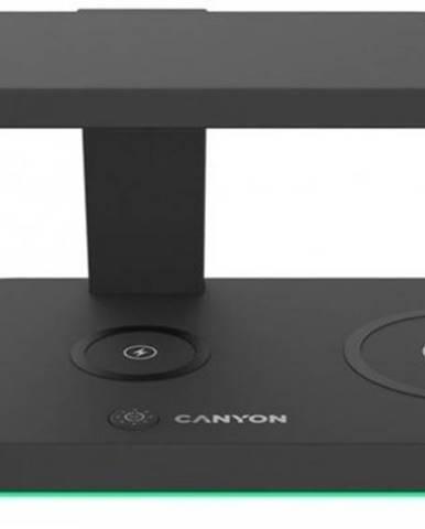 Bezdrôtová nabíjačka CANYON 5v1, čierna