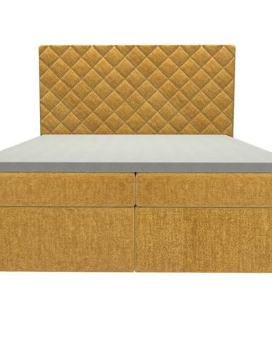 Posteľ Hera 160x200 Monolith 48 s vrchným matracom