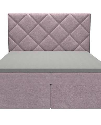 Posteľ Reja 160x200 Monolith 62 s vrchným matracom