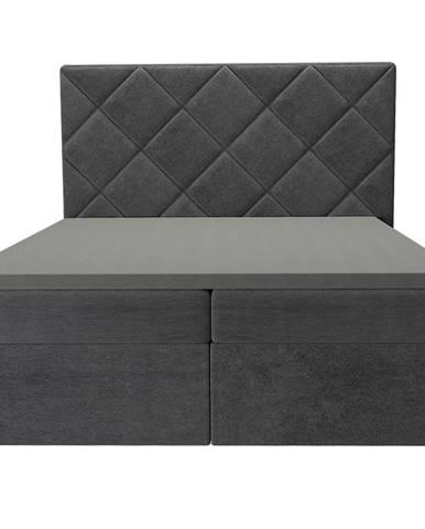 Posteľ Reja 160x200 Monolith 97 s vrchným matracom