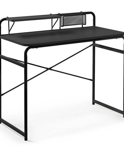 La Forma Čierny písací stôl La Forma Foreman