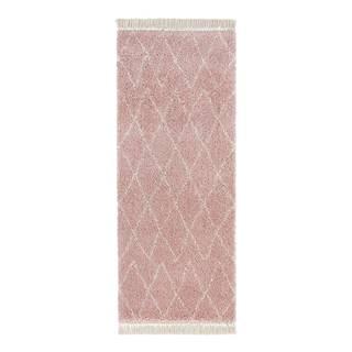 Ružový behúň Mint Rugs Jade, 80x200cm