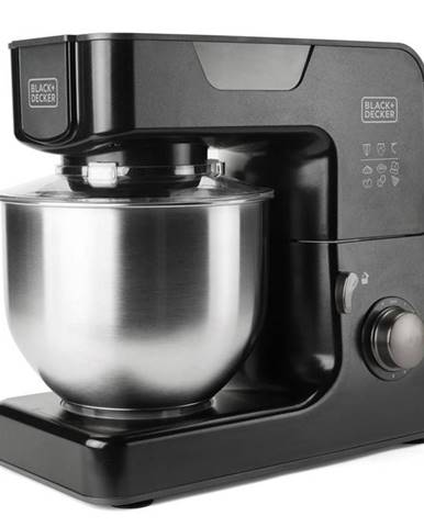 Kuchynský robot Black+Decker Bxkm1000e čierny