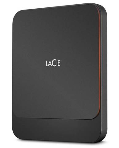 SSD externý Lacie Portable 2TB, USB-C čierny
