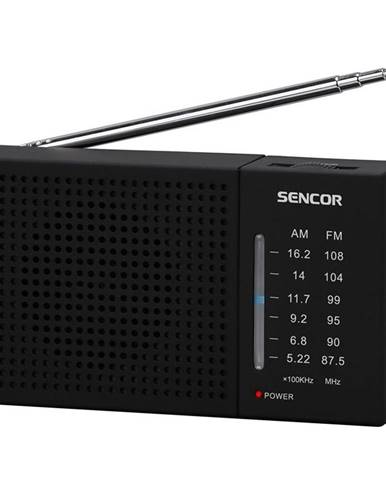 Rádioprijímač Sencor SRD 1800 čierny
