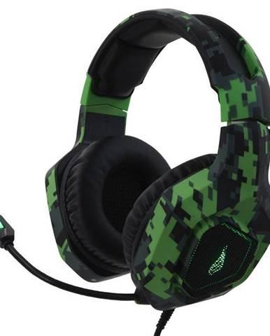 Headset  SureFire Skirmish čierny/zelený