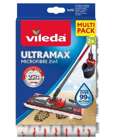 Návlek na mop Vileda Ultramax Microfibre 2v1 náhrada 2ks