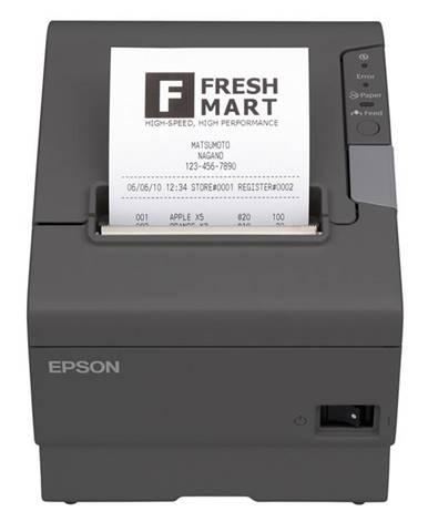 Tlačiareň pokladničná Epson TM-T88V čierna termální, LPT, USB, 300