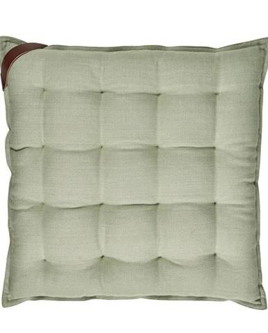 Svetlozelený bavlnený sedák Södahl, 40x40cm