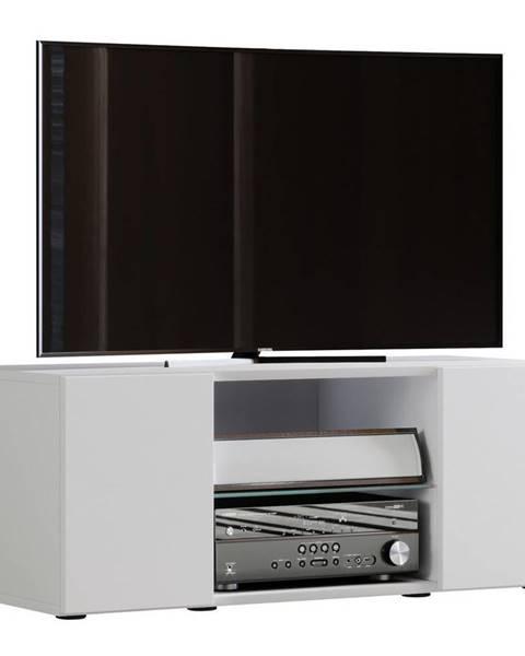 Möbelix Tv-skrinka Lowina Š: 95cm Biela