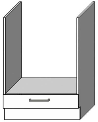 Kuchynská skrinka Vita DK60 Biely lesk