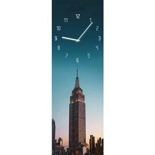 Sklenené hodiny 20X60 GC017 Manhattan GL-00958